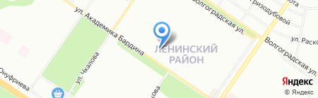 Кухни Матрёшка на карте Екатеринбурга