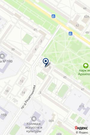 Анимашка на карте Екатеринбурга