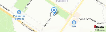 Искорка на карте Екатеринбурга