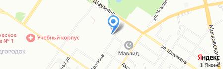 Екарта на карте Екатеринбурга
