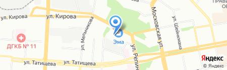 Техно-Концепт на карте Екатеринбурга