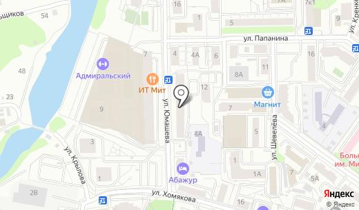 Геркулес. Схема проезда в Екатеринбурге