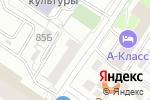 Схема проезда до компании Нартекс в Екатеринбурге