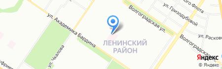 Стоматологическая поликлиника на карте Екатеринбурга