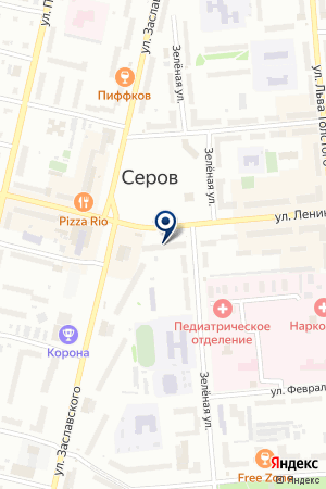 ЖКО N 1 на карте Серова