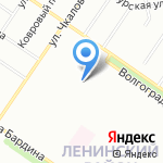 Tazik-club на карте Екатеринбурга