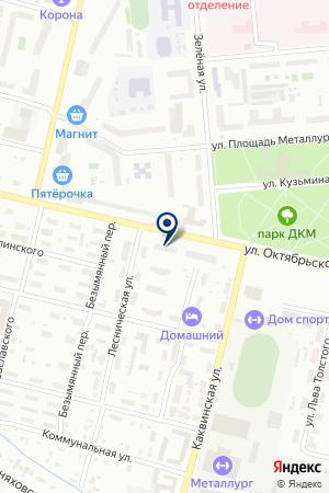 МАГАЗИН СОРТСЕМОВОЩ на карте Серова