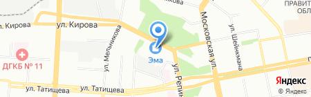 Кухни Маэстро на карте Екатеринбурга