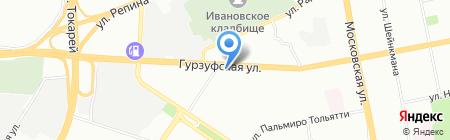 ПЕРСПЕКТИВА-СТРОЙ на карте Екатеринбурга