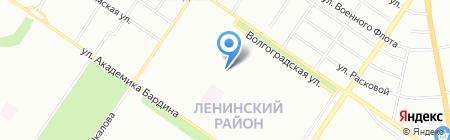 Средняя общеобразовательная школа №152 на карте Екатеринбурга