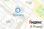 Схема проезда до компании Почтовое отделение №146 в Екатеринбурге
