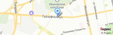 Ингрид на карте Екатеринбурга