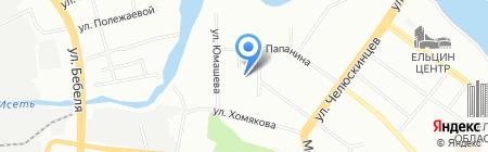 ТехноКом на карте Екатеринбурга