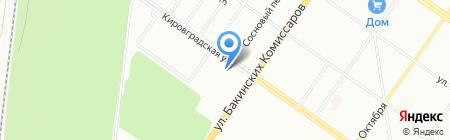 Детский сад №346 Теремок на карте Екатеринбурга