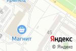 Схема проезда до компании Радуга-Дуга в Екатеринбурге
