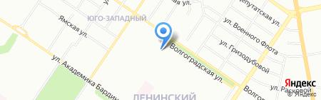 Радуга-Дуга на карте Екатеринбурга