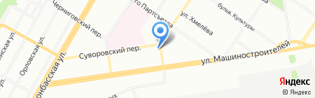 Ситилаб на карте Екатеринбурга