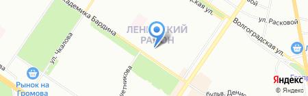Апродукт на карте Екатеринбурга