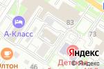 Схема проезда до компании Исетский гранитный карьер в Екатеринбурге
