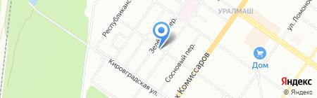 Lion Auto на карте Екатеринбурга