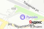 Схема проезда до компании ЛУКОЙЛ-ЛИКАРД в Екатеринбурге