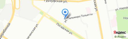 ЗОЛОТНИК на карте Екатеринбурга