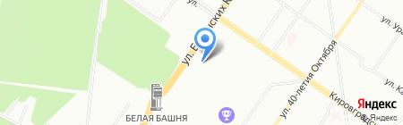 Тон-Сервис на карте Екатеринбурга