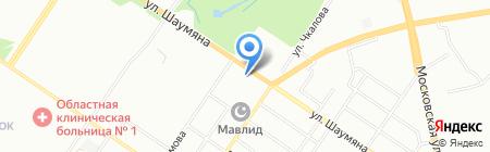 Аум Екатеринбург на карте Екатеринбурга