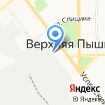 УГМК-Холдинг на карте Верхней Пышмы