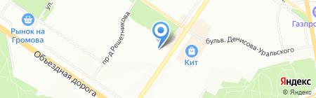 Детский сад №209 на карте Екатеринбурга