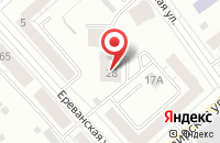 Схема проезда до компании Атлант в Екатеринбурге