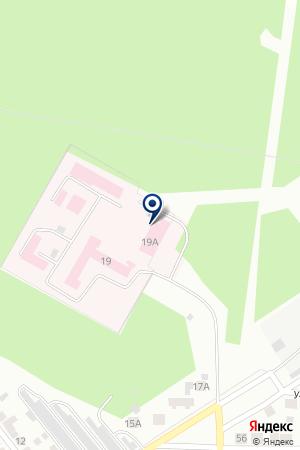 Верхнепышминская центральная городская больница на карте Верхней Пышмы