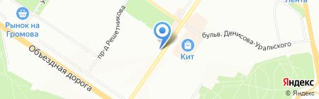 Device на карте Екатеринбурга