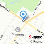 Сауна на Шаумяна на карте Екатеринбурга