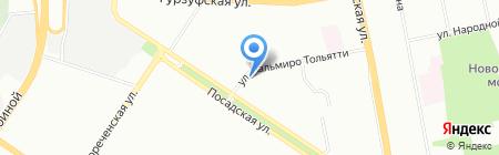 Butterfly на карте Екатеринбурга
