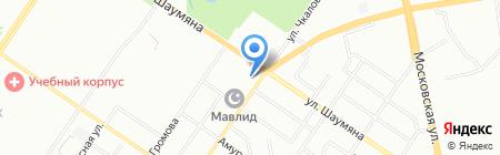 Вояджер и К на карте Екатеринбурга