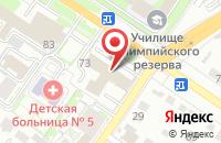 Схема проезда до компании Ам-Медиа в Екатеринбурге