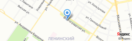 Элект на карте Екатеринбурга