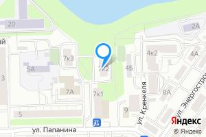 Однокомнатная квартира в Екатеринбурге м. Динамо, Верх-Исетский пруд,ул.Папанина д.7к.2