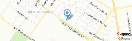 Мустанг на карте Екатеринбурга
