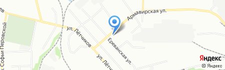 ОЛМИ на карте Екатеринбурга
