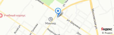Шиномонтажная мастерская на Депутатской на карте Екатеринбурга