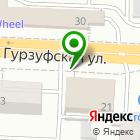Местоположение компании Екатеринбургская детская школа искусств №14 им. Г.В. Свиридова