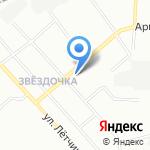 Автомойка на карте Екатеринбурга