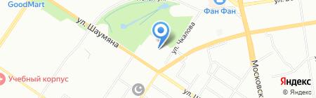 R-line на карте Екатеринбурга