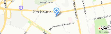 Детский сад №373 на карте Екатеринбурга