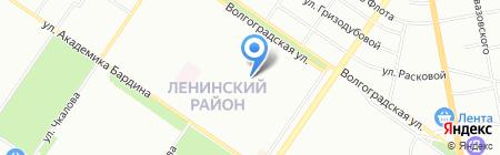 Екатеринбургская детская школа искусств №6 им. К.Е. Архипова на карте Екатеринбурга