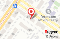 Схема проезда до компании Техносфера в Екатеринбурге