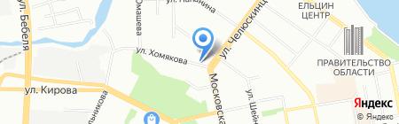 ЭкоРазвитие на карте Екатеринбурга