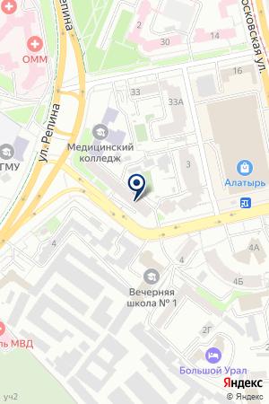 ГалкинВ.Н. на карте Екатеринбурга